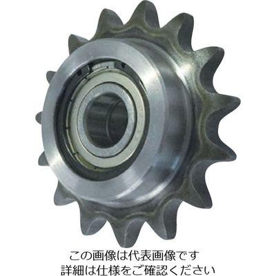 片山チエン ダブルアイドラースプロケット40 WID40C17D17 1個 333-7821 (直送品)