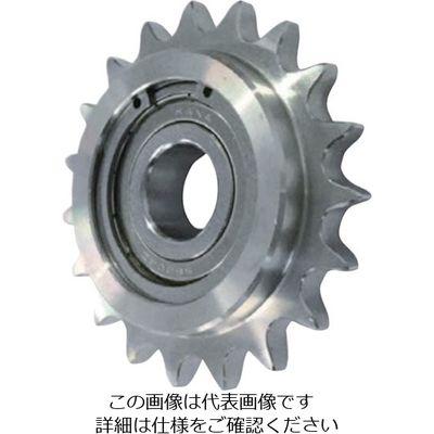 片山チエン ステンレスアイドラースプロケット40 SUSID40C17D17 1個 333-6948 (直送品)