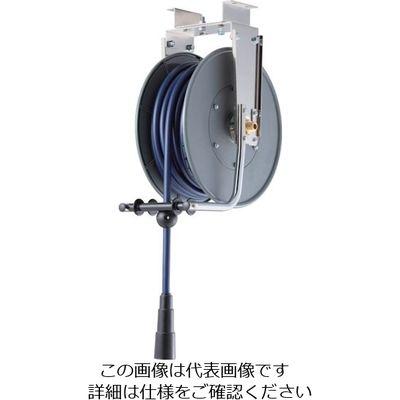 三協リール エアーホースリール(耐スパッタ仕様)内径11mm×15m SHR-40PAS 1台 327-2141 (直送品)