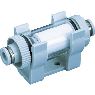 日本ピスコ 真空用フィルター 小型ユニオン樹脂タイプ VFU3-66P 1個 337-7989 (直送品)