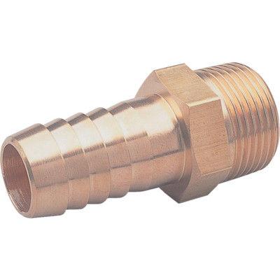 アソー(ASOH) ホースニップル PT1/2XΦ8 HN-1408 1個 374-0226 (直送品)