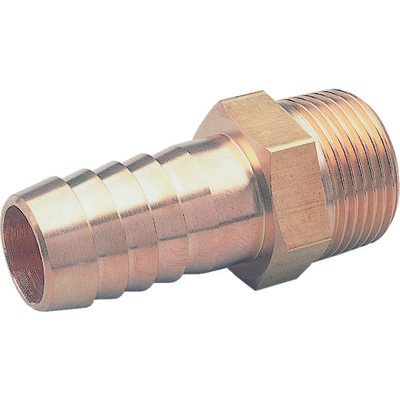 アソー(ASOH) ホースニップル PT3/8XΦ10.5 HN-1310 1個 374-0161 (直送品)