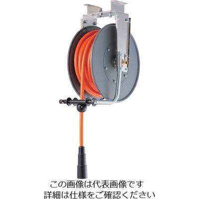 三協リール TRIENS エアーホースリール 内径11mm×15m SHR-40P 1台 374-1478 (直送品)