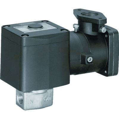 CKD(シーケーディー) CKD 直動式 防爆形2ポート弁 ABシリーズ(空気・水用) AB41E4-02-7-03T-AC200V 376-8091(直送品)