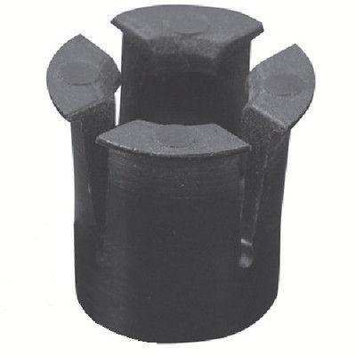 トラスコ中山 TRUSCO ナイロンナット M6X1.0 下穴12.8 5個入 TM6 1セット(5個:5個入×1パック) 257ー4772 (直送品)