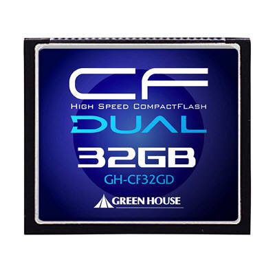 グリーンハウス UDMA対応233倍速コンパクトフラッシュ32GB GH-CF32GD (取寄品)