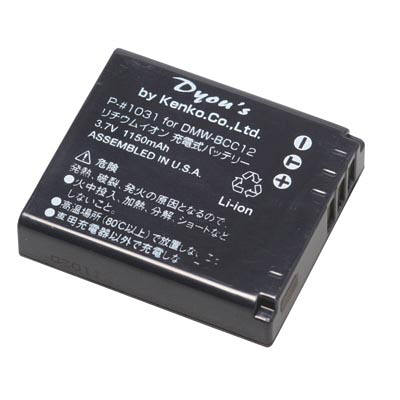 ケンコー・トキナー パナ用デジカメバッテリー P-#1031 (取寄品)