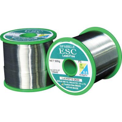 千住金属工業 エコソルダー ESC21 F3 M705 0.6ミリ 500g巻 ESC21 F3 M705 0.6 1巻 297-3219 (直送品)