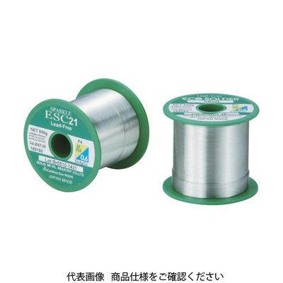 千住金属工業 エコソルダー ESC F3 M705 0.65 500g巻 ESC F3 M705 0.65 1巻 297-3316 (直送品)