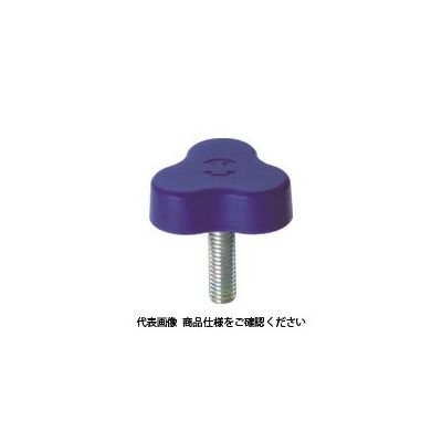 三星産業貿易 イーグルスターノブ 三平 M6×20 青 (1個=1袋) ESK33-M6X20-B-P 1個 363-2849 (直送品)
