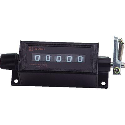 古里精機製作所 カウンタ中型 RS303-6 1個 101-6369(直送品)