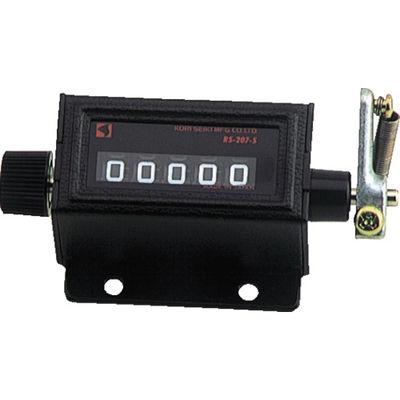 古里精機製作所 207型 カウンタ小型 RS207-3 1個 101-6296(直送品)