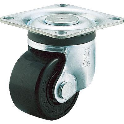 ユーエイキャスター(YUEI CASTER) 重量用キャスター自在車 75径フェノール車輪 HG-75PB 1個 379-6841 (直送品)