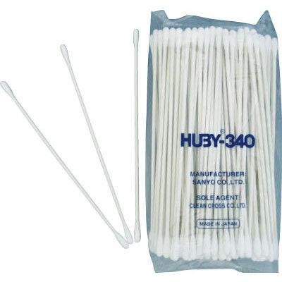 クリーンクロス HUBY コットンアプリケーター (2000本入) CA-007MB 1箱(2000本) 365-1941 (直送品)