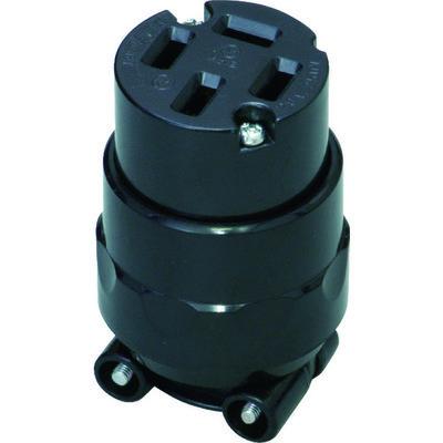 明工社 明工 接地3P20Aコネクターボデー MC2644 1個 381-6885(直送品)