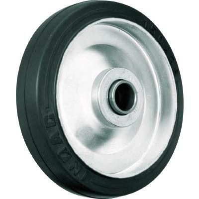 イノアック車輪(INOAC) 中荷重用キャスター ゴム車輪のみ Φ100 G-100W 1個 384-6920 (直送品)