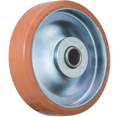 イノアック車輪(INOAC) 中荷重用キャスター ログラン(ウレタン)車輪のみ Φ100 P-100W 1個 384-7209 (直送品)