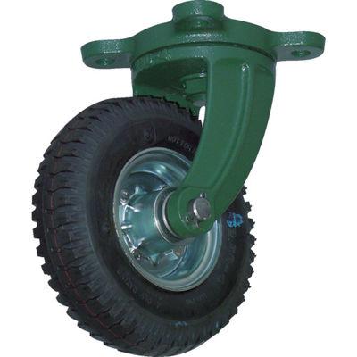 トラスコ中山(TRUSCO) 鋼鉄製運搬車用空気タイヤ 鋳物金具自在Φ223(2.50-4) OARJ-223 1個 389-9381 (直送品)