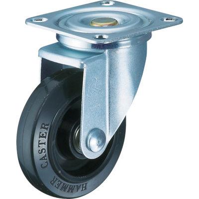 特殊鋼 熱処理金具 自在 ゴムB車 150mm 420YS-FR150-BAR01 392-9655 (直送品)