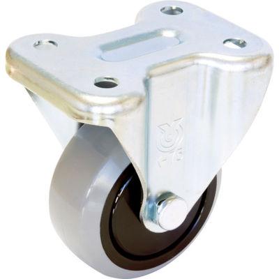 ユーエイキャスター(YUEI CASTER) 産業用キャスター固定車 150径ナイロンホイルウレタン車輪 GUK-150 1個 379-6752 (直送品)