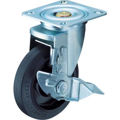 特殊鋼 熱処理金具 自在SP付 ゴムB車 125mm 413YS-FR125-BAR01 392-9558 (直送品)