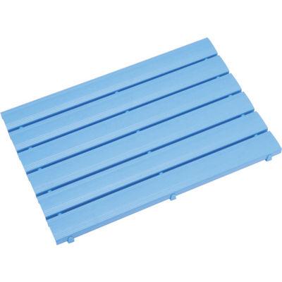 ミヅシマ工業 ストレートスノコ#180 600X1800 ブルー 430-0420 1枚 387-8007 (直送品)