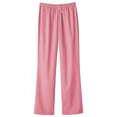 フォーク スクラブパンツ カラーパンツ(男女兼用) 6003SC-3 ピンク LL