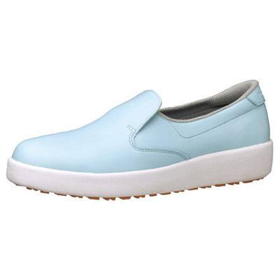 ミドリ安全 ハイグリップ作業靴H-700N 24cm ブルー SKT4323 (取寄品)