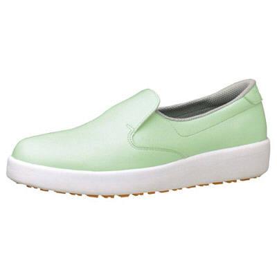 ミドリ安全 ハイグリップ作業靴H-700N 24cm グリーン SKT4324 (取寄品)