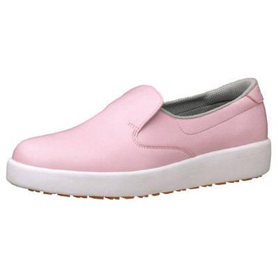 ミドリ安全 ハイグリップ作業靴H-700N 24cm ピンク SKT4325 (取寄品)
