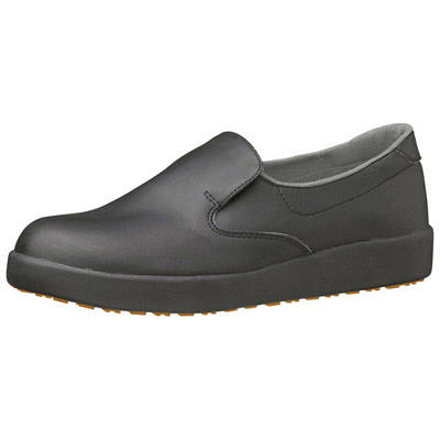ミドリ安全 ハイグリップ作業靴H-700N 25cm ブラック SKT4332 (取寄品)