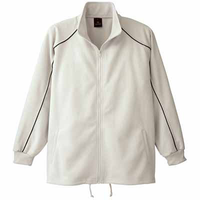 AITOZ(アイトス) ブリスタージャケット(男女兼用) シルバー 4L AZ2870-004 (直送品)