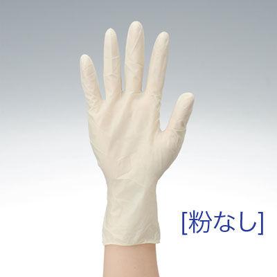使いきり天然ゴム手袋 L 粉なし