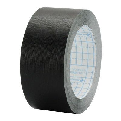 ニチバン 再生紙製本テープ ロールタイプ 幅35mm×10m 黒 BK-35