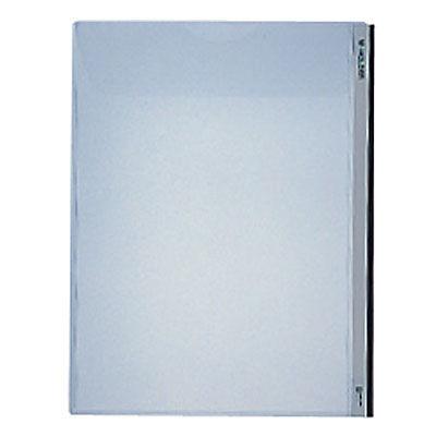 MホルダーA4タテ(マチ付) 乳白 1箱(25枚:5枚入×5袋)