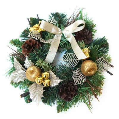 クリスマスリースS アップルリーフ PRAS‐0185 アカツキコーポレーション