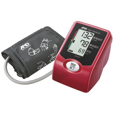スマート・ミニ血圧計UA-621R(上腕式)レッド エー・アンド・デイ