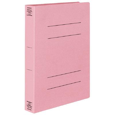 コクヨ フラットファイルX スーパーワイド A4タテ ピンク フ-X10P 1箱(10冊入)