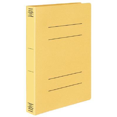 コクヨ フラットファイルX スーパーワイド A4タテ 黄 フ-X10Y 1箱(10冊入)