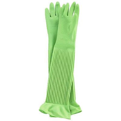 天然ゴム厚手手袋スーパーロングM 3双