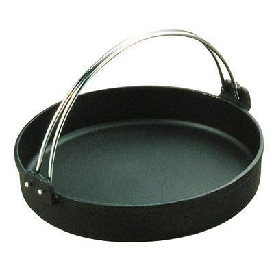 トキワ 鉄すきやき鍋 黒ツル付 26cm