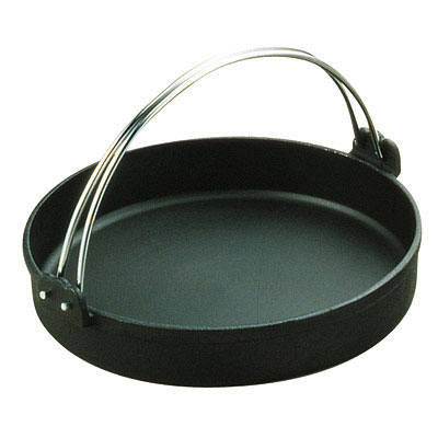トキワ 鉄すきやき鍋 黒ツル付 30cm