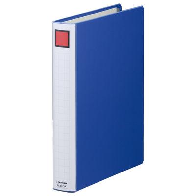 キングファイル スーパードッチ 脱着イージー A4タテ とじ厚30mm 青 3冊 キングジム 両開きパイプファイル 2473Aアオ
