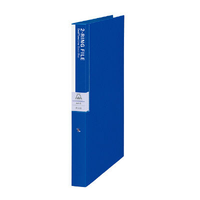 プラス Dejavu 2リングファイル20ミリ オーシャンブル FLー120PP 1箱(5冊:1冊×5冊) (直送品)