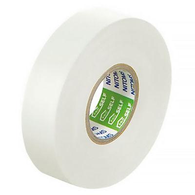 ニトムズ ビニルテープS 白 19mm×20m巻 J2585