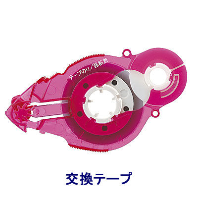 プラス テープのり スピンエコ 22m 交換テープ ピンク 38485 1箱(30個入)