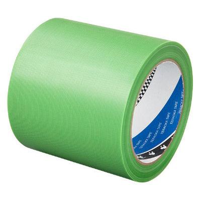 寺岡製作所 P-カットテープ 4140 強粘着 若葉 幅100mm×25m巻