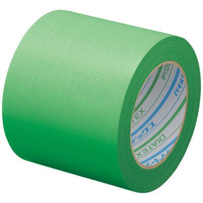ダイヤテックス パイオランクロス粘着テープ 塗装養生用 グリーン 幅100mm×25m巻 Y-09-GR
