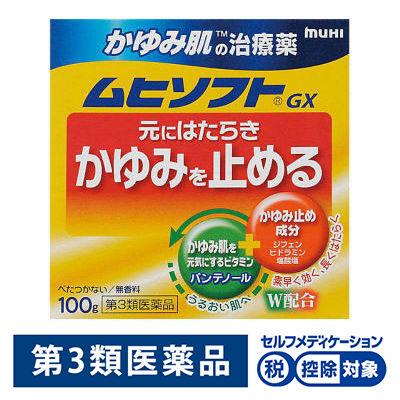 かゆみ肌の治療薬 ムヒソフトGX100g