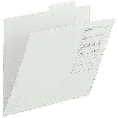 アスクル 個別フォルダー(無光沢ラミネート)グレー A4 1山 86149 1セット(100枚:10枚入×10袋)